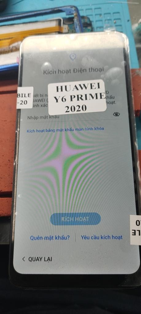 MED-LX9 xoá Huawei ID| Xoá tài khoản Huawei ID Y6P 2020