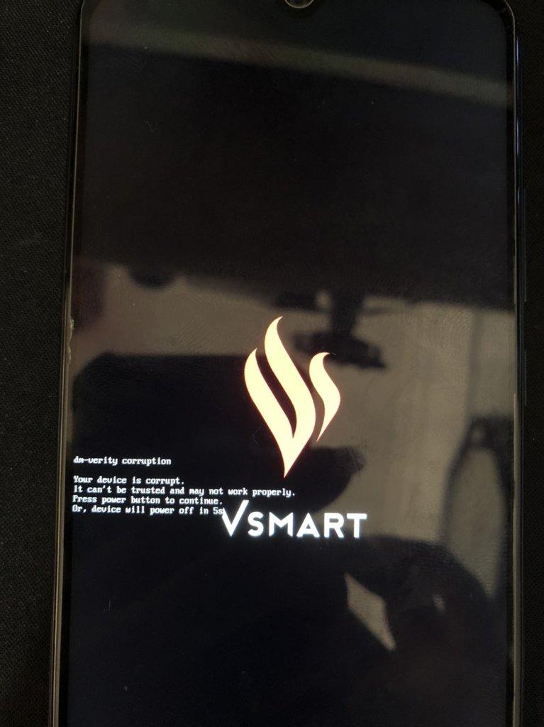 Fix lỗi Vsmart Star 5 dm-verity corrupt   V532A lỗi phần mềm